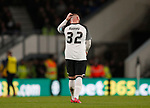 Wayne Rooney of Derby County reacts after the first goal during the FA Cup match at the Pride Park Stadium, Derby. Picture date: 5th March 2020. Picture credit should read: Darren Staples/Sportimage