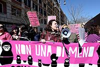 Roma, 8 Marzo 2017<br /> Sciopero globale delle donne, contro la violenza di genere  e lo sfruttamento .<br /> In corteo a Trastevere per la scuola pubblica e per una educazione di genere.