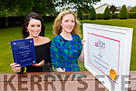 Annette O'Brien and Marilyn McSweeney who won awards at the Irish Make Up awards
