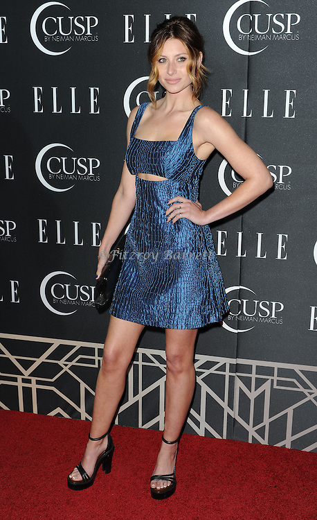 Aly Michalka arriving at 'ELLE 5th Annual Women In Music Concert Celebration' held at the Avalon Los Angeles, CA. April 22, 2014.