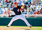 6 March 2010: Washington Nationals' pitcher Josh Wilkie in action during a Spring Training game against the New York Mets at Space Coast Stadium in Viera, Florida. The Mets defeated the Nationals 14-6 in Grapefruit League action. Mandatory Credit: Ed Wolfstein Photo
