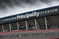 General view of the Principality Stadium ahead of the 2016 Adrian Flux British FIM Speedway Grand Prix at Principality Stadium, Cardiff, Wales  on 9 July 2016. Photo by David Horn.