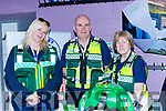 Bridget Delaney,Peter Foley, and Christine McCarthy from the Killarney Cardiac First Responders at  Kerry Expo in Killarney Community College on Friday Evening
