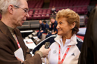 2/29/2008 - Photo by John Cheng.  Tyson American Cup .Day 1 Training Session.Photo by John Cheng - Tyson American Cup 2008 in Madison Square Garden, New York.Important People