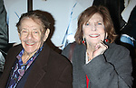 """Jerry Stiller & Anne Meara<br /> arriving the the Broadway Opening Night performance of """"Next Fall""""  at the Helen Hayes Theatre in New York City.<br /> March 11, 2010<br /> © Walter McBride /"""