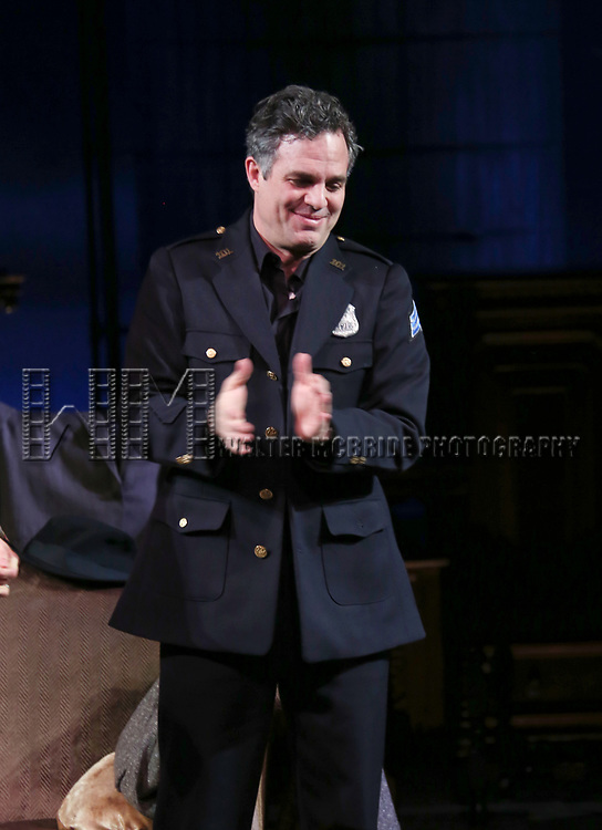 Mark Ruffalo during Broadway Opening Night performance Curtain call for the Roundabout Theatre Production of 'The Price' at the American Airlines TheatreTheatre on March 16, 2017 in New York City.