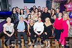 Philomena Quirke, Rahoonane, Tralee, celebrates her 50th birthday with family andfriends at the Greyhound Bar on Saturday