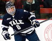 Stu Wilson (Yale - 6) - The Yale University Bulldogs defeated the Harvard University Crimson 5-1 on Saturday, November 3, 2012, at Bright Hockey Center in Boston, Massachusetts.
