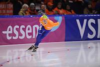 SCHAATSEN: HEERENVEEN: IJsstadion Thialf, 11-01-2013, Seizoen 2012-2013, Essent ISU European Championships allround, 500m Men, Renz Rotteveel (NED), ©foto Martin de Jong