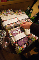 Francis Boulle's book 'Boulle's Jewels' next to Pippa Middleton's book at Daunt Bookshop