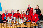 Fossa Rowing Club members at the Kerry Coastal Rowing Exhibition in Glenbeigh on Sunday.<br /> L-R Thomas O'Connell, Connie Daly, Alison Coffey, Rebecca O'Connell, Mags O'Connell, Conor Griffin, Raymond Coffey,Theresa Wharton.