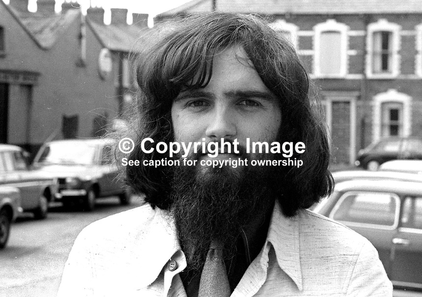 Dr Christopher Patrick Harding, lecturer, biology, New University of Ulster, N Ireland, August, 1973, 197308020532<br /> <br /> Copyright Image from Victor Patterson, 54 Dorchester Park, Belfast, UK, BT9 6RJ<br /> <br /> t1: +44 28 9066 1296 (from Rep of Ireland 048 9066 1296)<br /> t2: +44 28 9002 2446 (from Rep of Ireland 048 9002 2446)<br /> m: +44 7802 353836<br /> <br /> e1: victorpatterson@me.com<br /> e2: victorpatterson@gmail.com<br /> <br /> The use of my copyright images is subject to my Terms &amp; Conditions.<br /> <br /> It is IMPORTANT that you familiarise yourself with them. They are available on my website at www.victorpatterson.com.<br /> <br /> None of my copyright images may be used on a website unless they are visibly watermarked, i.e. &copy; Victor Patterson within the body of the visible image. Metadata denoting my copyright must NOT be deleted. Maximum online size is 300 kbs. Web use is extra at currently recommended NUJ rates.