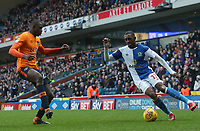 Blackburn Rovers' Amari'i Bell<br /> <br /> Photographer Rachel Holborn/CameraSport<br /> <br /> The EFL Sky Bet League One - Blackburn Rovers v Oldham Athletic - Saturday 10th February 2018 - Ewood Park - Blackburn<br /> <br /> World Copyright &copy; 2018 CameraSport. All rights reserved. 43 Linden Ave. Countesthorpe. Leicester. England. LE8 5PG - Tel: +44 (0) 116 277 4147 - admin@camerasport.com - www.camerasport.com