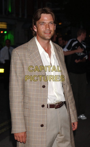 DOUGRAY SCOTT .Attends An Evening At The Sanderson Party, London..3rd June 2003.half length, half-length, coat, jacket.www.capitalpictures.com.sales@capitalpictures.com.Supplied By Capital Pictures