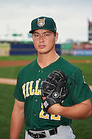 Lynchburg Hillcats pitcher Mitch Brown (22) poses for a photo before a game against the Wilmington Blue Rocks on June 3, 2016 at Judy Johnson Field at Daniel S. Frawley Stadium in Wilmington, Delaware.  Lynchburg defeated Wilmington 16-11 in ten innings.  (Mike Janes/Four Seam Images)