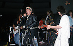 Ritchie Sambora, Billy Idol, Eddie Van Halen, TM Stevens, Phil Soussan at NAMM 1987.