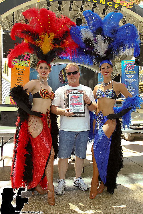 2011 Vegas Cruise awards on Fremont Street