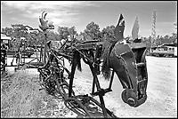 A Sant'Arcangelo di Romagna, (Rimini), &egrave; sorta neglii anni '90 la comunit&agrave; dei Mutoidi. <br /> Mutonia &egrave; la loro citt&agrave;, le case sono  corriere dismesse, carri, camper.<br /> Circa 30 persone che vivono costruendo robot, sculture mobili, arredamenti punk,