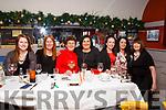 Celebrating Womens Little Christmas in Benners on Saturday night last, Rachel Costello, Denise Costello, Sheila O'Sullivan, Majella O'Sullivan, Eve Savage, Ann Green and Geraldine Gardezi.