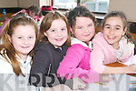 Ready, steady, draw: Taking part in the Under 10s Community Games Art County .Finals at the Presentation Convent on Saturday afternoon were sisters .Elizabeth and Jennifer O'Neill with Ciara Carroll and Aoife Farrell, all .Killarney..   Copyright Kerry's Eye 2008