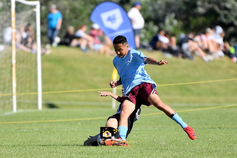 National Age Group Tournament at Petone Memorial Park, Lower Hutt, New Zealand on Saturday 15 December 2018. <br /> Photo by Masanori Udagawa. <br /> www.photowellington.photoshelter.com