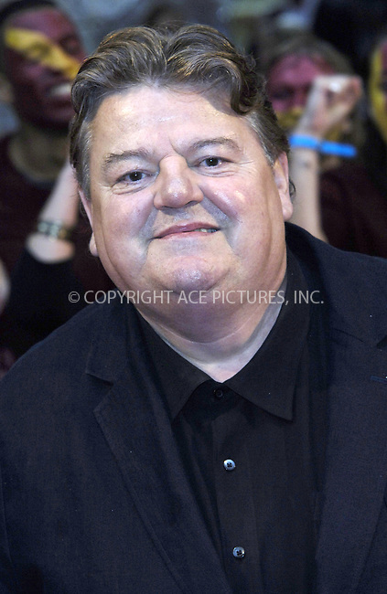 "WWW.ACEPIXS.COM . . . . .  ..... . . . . US SALES ONLY . . . . .....July 7 2009, London....Robbie Coltrane at the World Premiere of ""Harry Potter And The Half-Blood Prince"" held at the Empire Leicester Square on July 7 2009 in London....Please byline: FAMOUS-ACE PICTURES... . . . .  ....Ace Pictures, Inc:  ..tel: (212) 243 8787 or (646) 769 0430..e-mail: info@acepixs.com..web: http://www.acepixs.com"