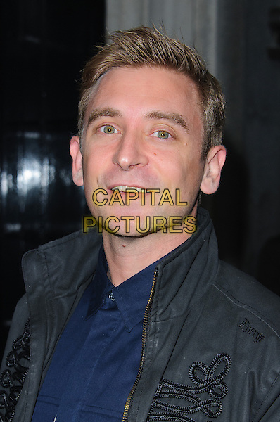 Daniel Stein aka DJ Fresh.Brits 2013 Nominations Party - Outside Arrivals, London, United Kingdom,.10th January 2013..portrait headshot grey gray blue shirt jacket .CAP/CJ.©Chris Joseph/Capital Pictures.