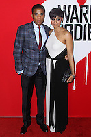 "HOLLYWOOD, CA - JANUARY 29: Cory Hardrict and Tia Mowry-Hardrict arrive at the ""Warm Bodies"" Los Angeles Premiere held at ArcLight Cinemas Cinerama Dome on January 29, 2013 in Hollywood, California. Photo Credit: Xavier Collin / Retna Ltd. / MediaPunch Inc /NortePhoto"