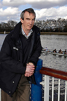 Putney. GREAT BRITAIN,  Boat Race, London Representive,  Howard JACOBS at the pre Boat Race fixture - Cambridge University [CUBC]  vs German National Eight  in London, on Sat.  03.03.2007,  [Photo Peter Spurrier/Intersport Images]  [Mandatory Credit, Peter Spurier/ Intersport Images]. , Rowing Course: River Thames, Championship course, Putney to Mortlake 4.25 Miles, , Varsity Boat Race.