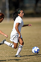 SAN ANTONIO, TX - NOVEMBER 4, 2007: The McNeese State University Cowgirls vs. The University of Texas at San Antonio Roadrunners Women's Soccer at the UTSA Soccer Field. (Photo by Jeff Huehn)