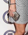 BEVERLY HILLS, CA - OCTOBER 24: Actress Alison Eastwood, handbag, bracelet, ring detail, at the Last Chance for Animals Benefit Gala at The Beverly Hilton Hotel on October 24, 2015 in Beverly Hills, California.
