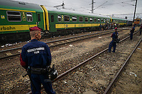 Refugee crisis: thousands at  Budapest train station. Budapest, Hungary. Sept. 03, 2015