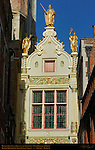 Boudewijn Count Baldwin Iron Arm, Civil Registry Rear Facade, Blinde-Ezelstraat Blind Donkey Street, Bruges, Brugge, Belgium