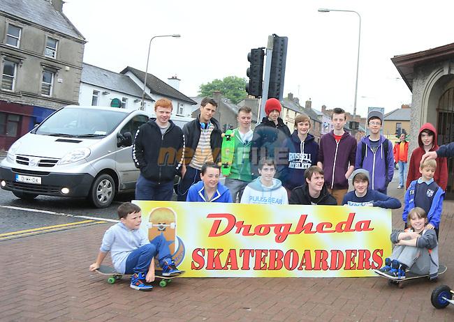 Drogheda Skate park<br /> Picture:  Fran Caffrey / www.newsfile.ie