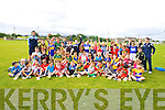 Boys & Girls from of Ardfert GAA, club taking part in the summer Cul Camp on Tuesday
