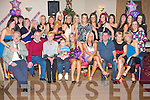 SURPRISE BIRTHDAY: Trisha Moran, Ballyrickard (seated 5th left) got great surprise when a big group of family and friends gathered to celebrate her 30th birthday at the Kerins O'Rahillys clubhouse on Friday..   Copyright Kerry's Eye 2008