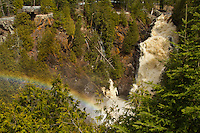 &quot;Rainbow at Big Manitou Falls&quot;<br />