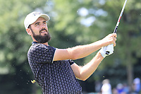 Troy Merritt (USA) in action during the third round of the Northern Trust played at Liberty National Golf Club, Jersey City, USA. 10/08/2019<br /> Picture: Golffile | Phil INGLIS<br /> <br /> All photo usage must carry mandatory copyright credit (© Golffile | Phil Inglis)