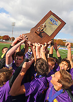 Boys Soccer vs. Providence - STATE FINALS - Celebration, Fans and Awards - 11-2-13