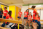 Roland Garros. Paris, France. June 1st 2012.A day with the ball boys..In the girls looker room