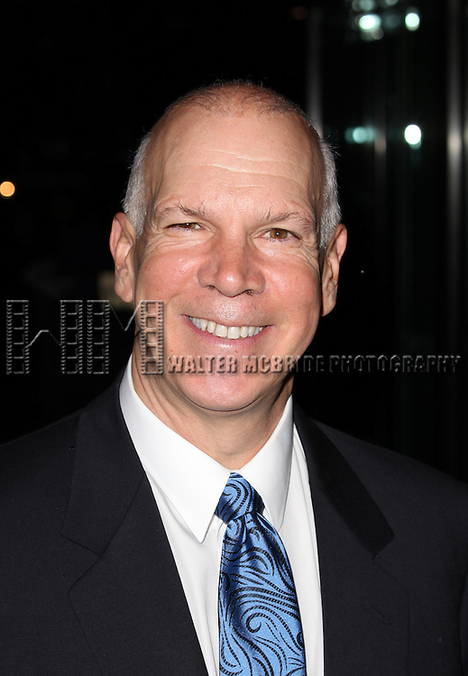 David Zippe attending the Memorial To Honor Marvin Hamlisch at the Peter Jay Sharp Theater in New York City on 9/18/2012.