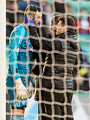 2nd February 2019, Easter Road, Edinburgh, Scotland; Ladbrokes Premiership football, Hibernian versus Aberdeen; Joe Lewis of Aberdeen  is checked out by medical staff and goes off injured