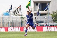 ATENÇÃO EDITOR: FOTO EMBARGADA PARA VEÍCULOS INTERNACIONAIS SÃO CAETANO,SP,22 SETEMBRO 2012 - CAMPEONATO BRASILEIRO SERIE B -SÃO CAETANO x CRB -Eder  jogador do São Caetano  comemora gol durante partida São Caetano X CRB válido pela 26º rodada do Campeonato Brasileiro serie B no Estádio Anacleto Campanela, no abc paulista na tarde  deste sabado (22).(FOTO: ALE VIANNA -BRAZIL PHOTO PRESS)