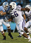 16 September 2006: Furman's Roy Ravenell. The University of North Carolina Tarheels defeated the Furman University Paladins 45-42 at Kenan Stadium in Chapel Hill, North Carolina in an NCAA College Football game.