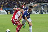 BELO HORIZONTE, MG, 25.02.2014 &ndash; COPA LIBERTADORES DA AM&Eacute;RICA 2014 &ndash; CRUZEIRO X UNIVERSIDAD DO CHILE Willian jogador do Cruzeiro durante <br /> jogo contra Universidad do Chile jogo valido pela 2&ordf; rodada da  Copa Libertadores da Am&eacute;rica 2014, no est&aacute;dio Miner&atilde;o, na tarde de <br /> Ter&ccedil;a (25) (Foto:  MARCOS FIALHO / BRAZIL PHOTO PRESS)