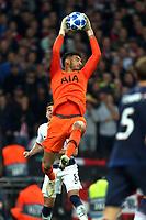 Paulo Gazzaniga of Tottenham Hotspur during Tottenham Hotspur vs PSV Eindhoven, UEFA Champions League Football at Wembley Stadium on 6th November 2018