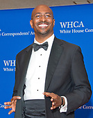 Commentator Van Jones arrives for the 2017 White House Correspondents Association Annual Dinner at the Washington Hilton Hotel on Saturday, April 29, 2017.<br /> Credit: Ron Sachs / CNP