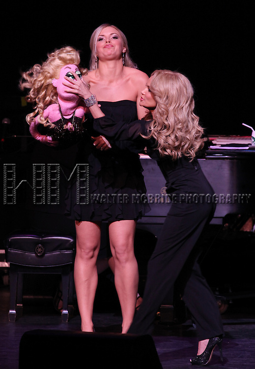Kristin Chenoweth & Chelsea Packard.performing in Kristin Chenoweth World Tour directed by Richard Jay Alexander at City Center in New York City on 6/02/2012
