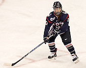 Lindsay Roethke (UConn - 10) - The Boston College Eagles defeated the visiting UConn Huskies 4-0 on Friday, October 30, 2015, at Kelley Rink in Conte Forum in Chestnut Hill, Massachusetts.