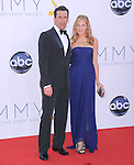 Jon Hamm, Jennifer Westfeldt at The 64th Anual Primetime Emmy Awards held at Nokia Theatre L.A. Live in Los Angeles, California on September  23,2012                                                                   Copyright 2012 Hollywood Press Agency